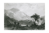 Helvellyn, Lake District Giclee Print by Thomas Allom