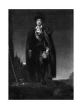 Kemble as Hamlet Giclee Print by Thomas Lawrence