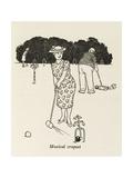 Musical Croquet Giclee Print by William Heath Robinson