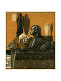 Riddle of the Sphinx Premium Giclee Print by Walther Georgi