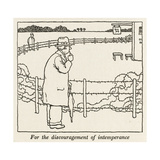Intemperance Giclee Print by William Heath Robinson