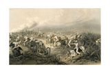 India, Mutiny, Artillery Giclee Print by W. Simpson