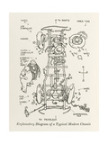 The Modern Chassis Giclee Print by William Heath Robinson