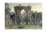 Netley Abbey, West, 1908 Giclee Print by Warwick Goble