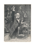 Gladstone in 1886 Giclee Print by Walter Wilson