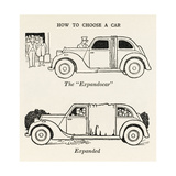 The 'Expandocar' Giclee Print by William Heath Robinson