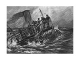 Sinking Ship Giclee Print by Willy Stower