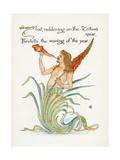 Triton's Spear, Crane Giclee Print by Walter Crane