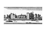 Lambeth Palace Giclee Print by Wenzel Hollar