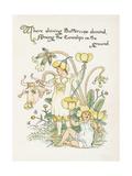 Ranunculus Bulbosus Giclee Print by Walter Crane