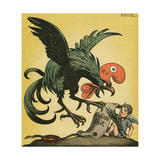 France Attacks Kellogg Giclee Print by Werner Hahmann