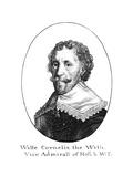 Cornelis de Witt Giclee Print by Wenzel Hollar