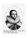 Sir Robert Berkeley Giclee Print by Wenzel Hollar