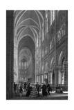 Paris, Notre Dame 19C Int Giclee Print
