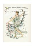 Crataegus Laevigata Giclee Print by Walter Crane