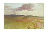 Wessex, Nr Maiden Castle Giclee Print by Walter Tyndale