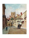Sherborne, Dorset 1906 Giclee Print by Walter Tyndale