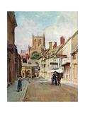 Sherborne, Dorset 1906 Premium Giclee Print by Walter Tyndale