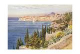 Croatia, Dubrovnik 1925 Giclee Print by Walter Tyndale