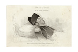 Napoleon on His Deathbed Giclee Print