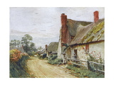 Wessex, Tincleton Cottage Giclee Print by Walter Tyndale