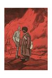 Russia and Britain, 1917 Giclee Print by Wilhelm Schutz