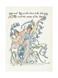 Plants, Hyacinthus Giclee Print by Walter Crane