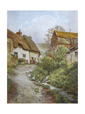 Wessex, Sutton Poyntz Giclee Print by Walter Tyndale