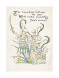 Plants, Galanthus Lámina giclée por Crane, Walter
