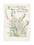 Plants, Galanthus Giclee Print by Walter Crane