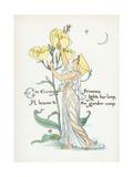 Oenothera Missouriensis Premium Giclee Print by Walter Crane