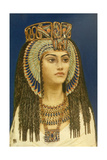 Tiy, Egyptian Queen Giclee Print by Winifred Brunton