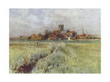 Wessex, Wareham, Anglebury Giclee Print by Walter Tyndale