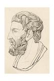 Epicurus, Chant, Saddler Giclee Print