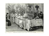 Death of Prince Albert Victor, Duke of Clarence and Avondale Giclee Print by W. Simpson