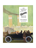 Willys Overland Car Advertisement, 1917 Giclee Print by Wilton Williams
