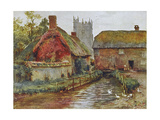Wessex, Affpuddle 1906 Giclee Print by Walter Tyndale
