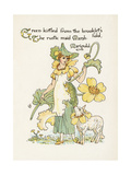 Plants, Caltha Palustris Giclee Print by Walter Crane