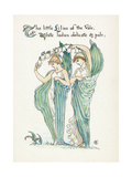Convallaria Majalis Giclee Print by Walter Crane