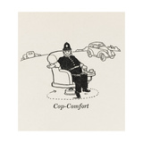 Cop Comfort Giclee Print by William Heath Robinson