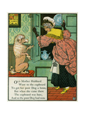 Old Mother Hubbard Went to the Cupboard Giclee Print by Walter Crane