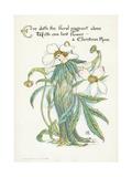 Plants, Helleborus Niger Giclee Print by Walter Crane