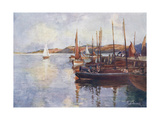 Lewis, Stornoway 1906 Giclee Print by William Smith