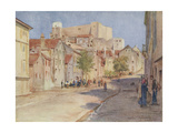 Croatia, Sibenik 1925 Giclee Print by Walter Tyndale