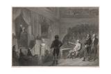 Revolution, Louis' Trial Giclee Print by W. Greatbatch