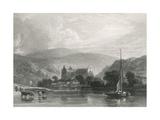 Tintern, Radclyffe, 1835 Giclee Print by W. Radclyffe