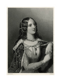 Isabella de Valois Giclee Print by W.h. Mote