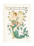 Lonicera Periclymenum Giclee Print by Walter Crane