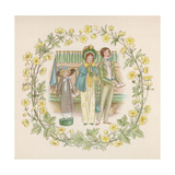 Singing in Church Giclee Print by Winifred Green