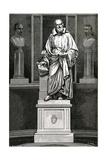 Galileo, Statue, Figuier Giclee Print